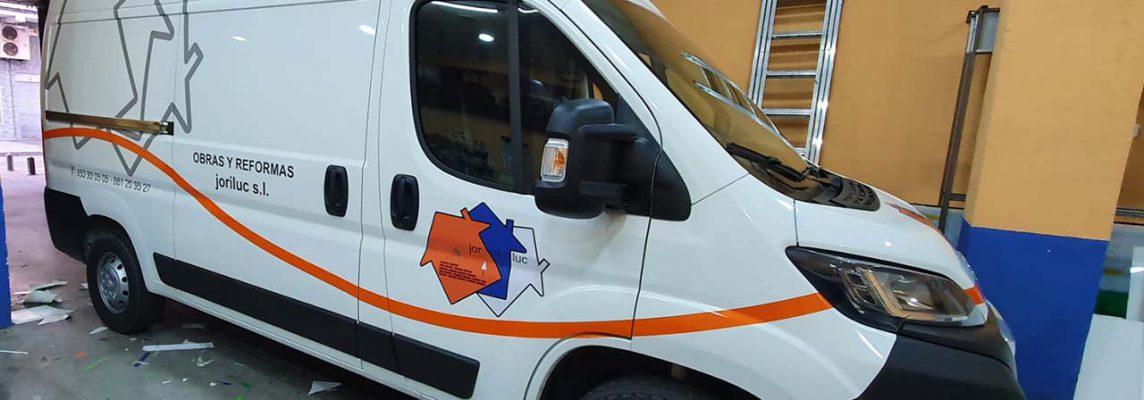 Rotulación vehículo personalizado